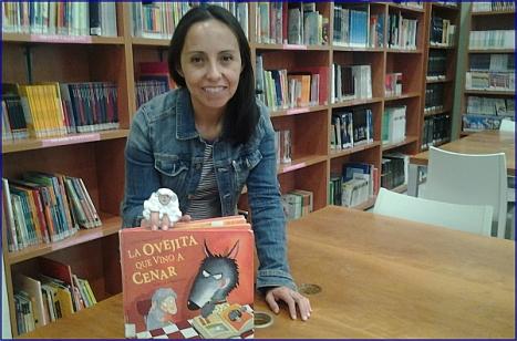 Marcela Rojas, la mama cuenta cuentos