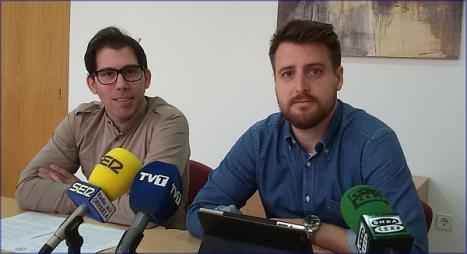 Luis M. Pizana y Miguel Cano (PP)
