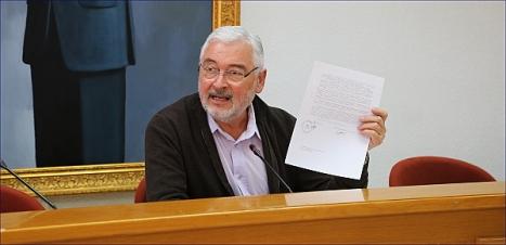 El Alcalde José Manuel Dolón (Los Verdes) / Foto: J. Carrión