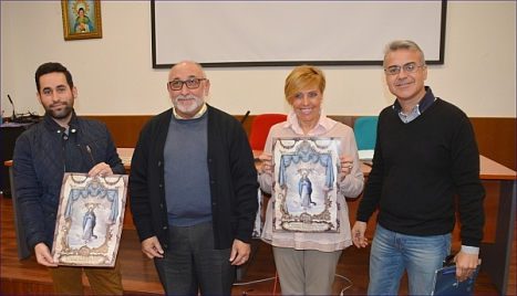 De Izda. a Dcha. Jose Carlos , Manuel Mtnez. Rocamora, Encarnita Brotons y Vívtor García