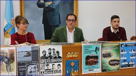 Carolina Martínez, Alejandro Blanco y Federico Gadea
