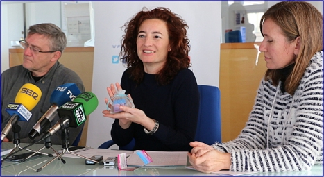 Foto:   Juan Manuel Gómez, Fanny Serrano y Lidia Rodríguez