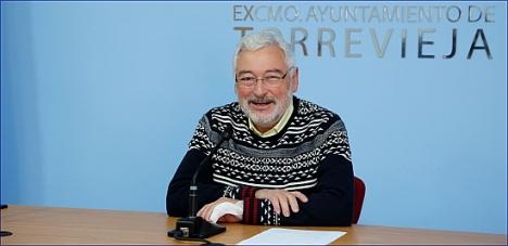 José Manuel Dolón, alcalde de  Torrevieja