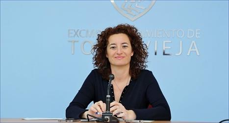 Fanny Serrano, portavoz de la JGL (Foto: J. Carrión)