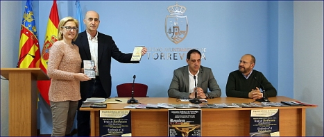De Izda. a dcha. Carmen Muñoz, Pelayo Mellado, Alejandro Blanco y Mario Bustillo