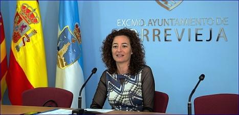 Fanny Serrano, portavoz de la Junta de Gobierno Local (Foto: L. Carrión)
