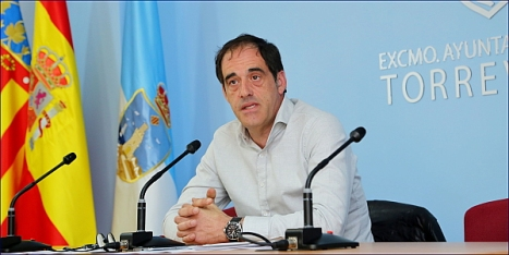 Alejandro Blanco, concejal de Obras u¡y Servicios