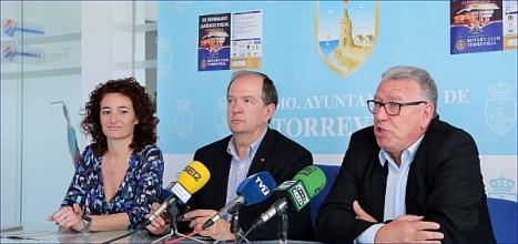 Fanny Serrano, Julio Ballester y Gabriel Marcos