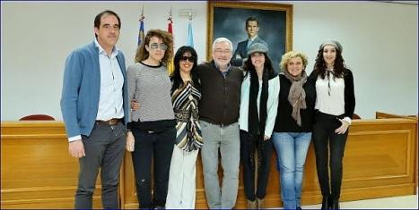 Foto de familia al final de la rueda de prensa (J. Carrión)