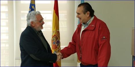 Encuentro entre el alcalde y el 21.3.2016