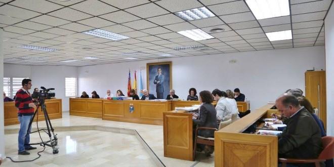 Pleno del Ayuntamiento de Torrevieja (Foto de Archivo) J. Carrión