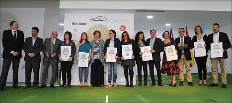Foto de familia entrega de premios año 2016 (Fptp: J. Carrión)
