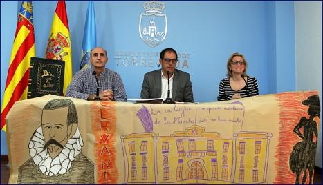 Pelayo Mellado, Alejandro Blanco y Camen Muños, durante la presentación de las actividades (Foto: J. Carrión)