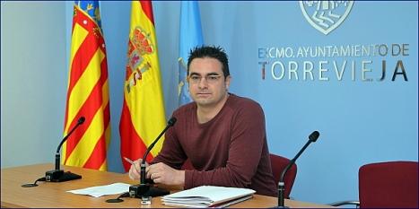 Víctor Ferrández,, portavoz de IU en el Ayuntamiento Foto Archivo: J. Carrión)