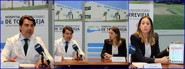 Momento de la presentacion (Fotos: J. Carrión)