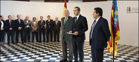 051116 ministro margallo y presidente diputacio_n castellon visitan diputacion 3