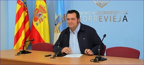 Javier Manzanares, ayer en la rueda de prensa sobre la nueva Web (Foto: J. Carrión)