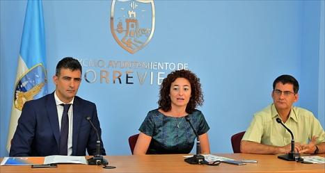 J. Manuel Nadal, Fanny Serrano Y J. Puyol (Foto: J. Carrión)