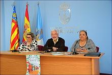 Momento de la presentación de la Feria de Sevillanas (Foto: J. Carrión)