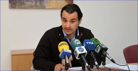 Eduardo Dolón, portvoz del PP (Foto: J.Carrión)