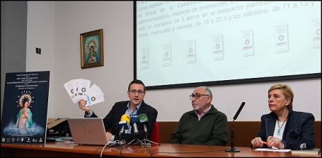 Presentación del cartel y Programa del 50 aniversario de la Coronación (Foto: J. Carrión)