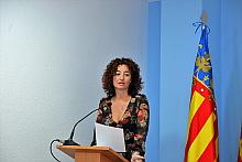 Fanny Serrano, portavoz de la Junta de Gobierno Local (Foto: J. Carrión)
