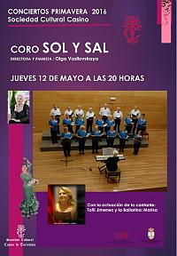 CORO SOL Y SAL CASINO JUEVES 12
