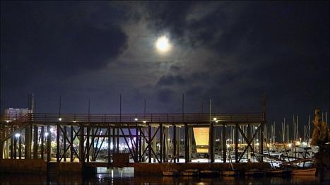 Foto Nocturna de Torrevieja - Eras de la Sal (Joaquín Carrión)