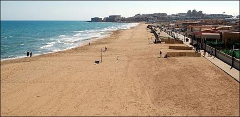 Playa de La Mata . Torrevieja