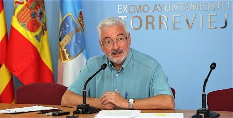 Dolón, ayer en rueda de prensa (Foto: J. Carrión)