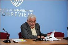 José M. Dolón, ayer en rueda de prensa (Foto: J. Carrión)