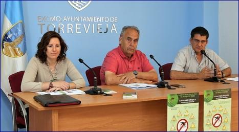 Rueda de prensa informativa ayer (Foto: J. Carrión)