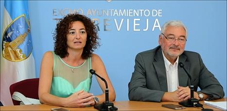 Dolón y Serrano, ayer en la rueda de prensa (Foto: J. Carrión)