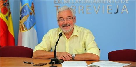 José Manuel Dolón, alcalde de Torrevieja  (Foto: J. Carrión) - Archivo