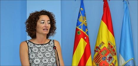 Fanny Serrano, portavoz de la  Junta de Gobierno (Foto: J. Carrión)