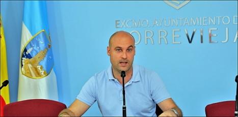 Pablo Samper, concejal de Juventud y Deportes (Foto: J. Carrión)
