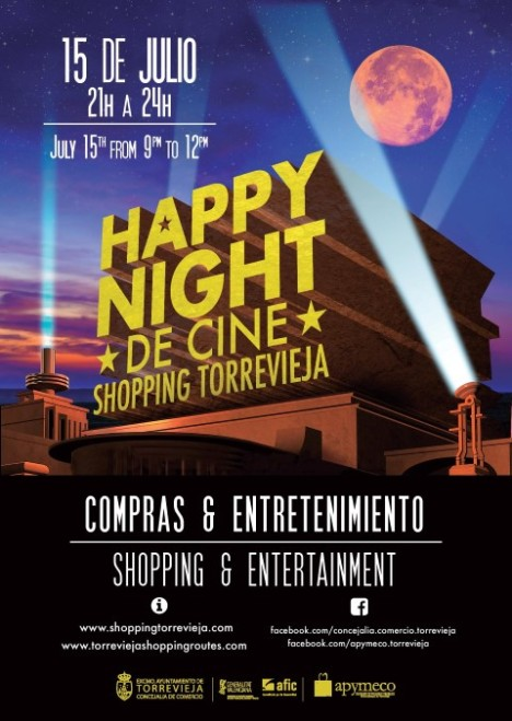 Happy Night A3 Poster genérico (Small)