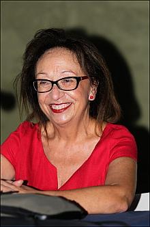 Josefina Nieto, presidenta de Ars Creatio (Foto: J. Carrión)
