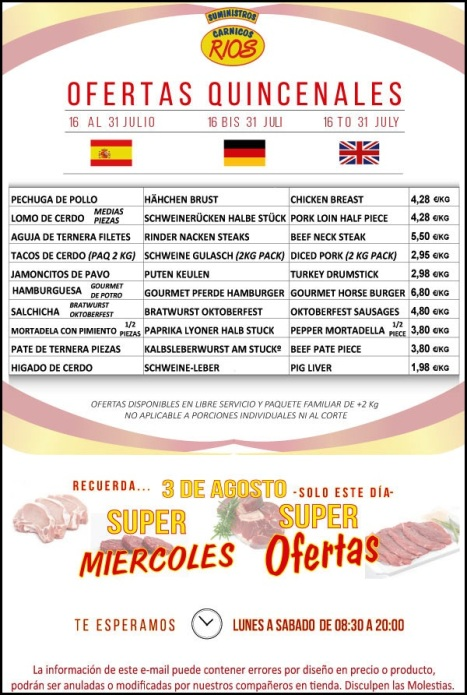 OFERTAS-segunda-QUINCENA-julio-carnicasrios-torrevieja-carniceria-charcuteria-ofertas-quincenales