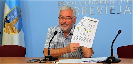 José Manuel Dolón (LV), alcalde de Torreiveja (Foto: J. Carrión)