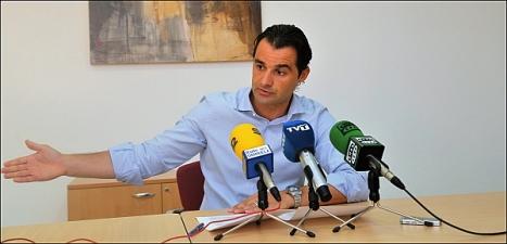 Eduardo Dolón, portavoz del Grupo Popular del PP (Foto Archivo de J. Carrión)