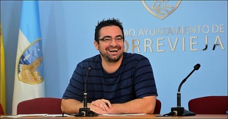 Víctor Ferrández (IU), concejal de Fomento (Foto Archivo: J. Carrión)