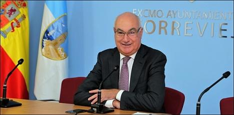 Domingo Soler -APTCe, en rueda de prensa (Foto: J. Carrión)
