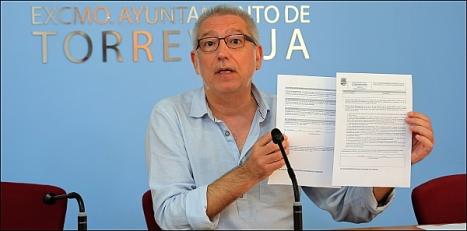 José Hurtado (LV), concejal de Educación (Foto: J. Carrión)