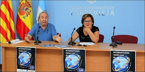Osuna y Guillamó ayer en rueda de prensa (Foto: J. Carrión)I