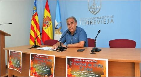 Domingo Pérez, concejal de Tercera Edad (Foto: J. Carrión)