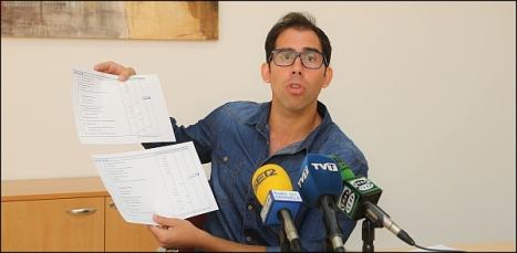 Luis María Pizana, concejal del PP (Foto: J. Carrión)