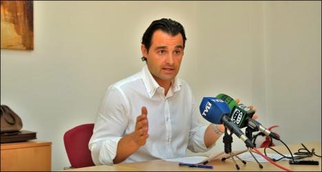 Eduardo DOlón, portavoz del PP (Foto: J. Carrión)