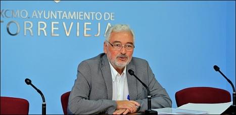 Alcalde de Torrevieja, José M. Dolón (Foto: Carroión)