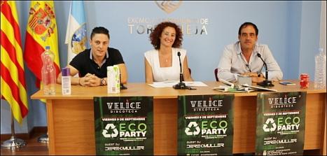 Gustavo de Vélice, Fanny Serrano y Alejandro Blanco, ayer en rueda de prensa